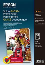 EPSON Value Photo Paper -valokuvapaperi, A4, 50 arkkia