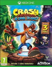 Crash Bandicoot - N. Sane Trilogy -peli, Xbox One