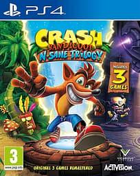 Crash Bandicoot - N. Sane Trilogy -peli, PS4