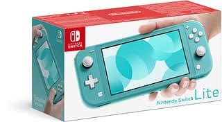 Nintendo Switch Lite -pelikonsoli, turkoosi