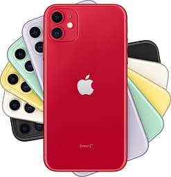 Apple iPhone 11 64 Gt -puhelin, punainen (PRODUCT)RED