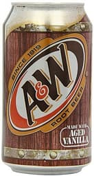 A&W Root Beer USA -virvoitusjuoma, 355 ml