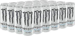 Monster Energy Ultra -energiajuoma, 500 ml, 24-PACK