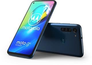 Motorola Moto G8 Power -Android-puhelin, sininen