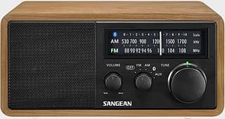 Sangean WR-11BT+ -pöytäradio, pähkinä