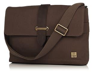 """Knomo Troon 13"""" laukku kannettavalle tietokoneelle, ruskea"""