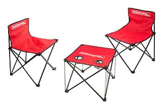 Verkkokauppa.com taitettava pöytä ja kaksi tuolia