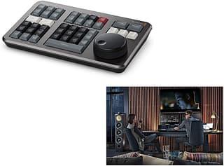 DaVinci Resolve Studio with Speed Editor Bundle -editointi- ja värimäärittelyohjelmisto ja konsoli