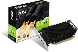 MSI GEFORCE GT 1030 2GH LP OC 2048 Mt -näytönohjain PCI-e-väylään