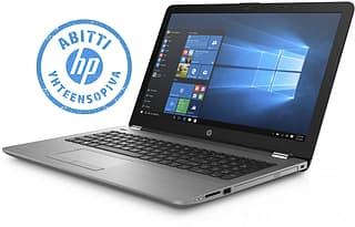 """HP 250 G6 15,6"""" -kannettava, Windows 10 Pro, hopea"""