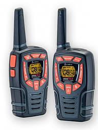 Cobra AM-845 PMR -radiopuhelin, musta/oranssi, pari