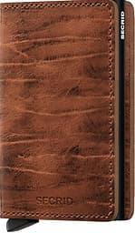 Secrid Dutch Martin Whiskey Slimwallet -lompakko, ruskea