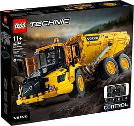 LEGO Technic 42114 - Nivelkaivoskuorma-auto Volvo 6x6