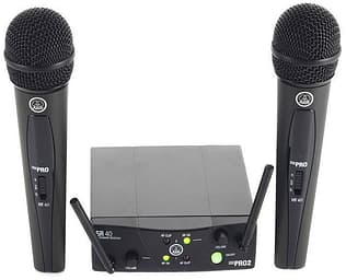 AKG WMS40 Mini 2 ISM2 -Laulumikrofoni-setti