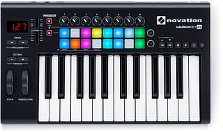 Novation Launchkey 25 MK2 -MIDI-koskettimisto