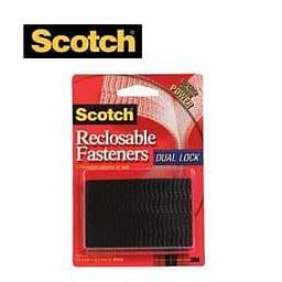 3M Scotch® Dual Lock -tarranauhapalat, 2 kpl, musta