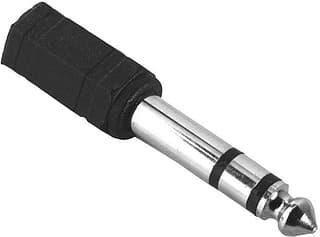 Hama 3,5 mm naaras - 6,3 mm uros -audioadapteri