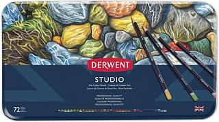 Derwent Studio -värikynälajitelma, 72 kynää