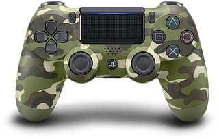 Sony DualShock 4 v2 -peliohjain, Green Camo, PS4