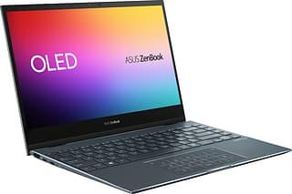 Asus ZenBook Flip 13 OLED -kannettava, Win 10, tummanharmaa (UX363EA-PURE13X)
