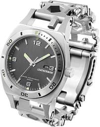 Leatherman Tread Tempo -kello, monitoimityökalurannekkeella, metalli