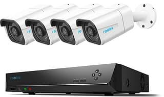 Reolink RLK8-800B4 4K Ultra HD PoE -valvontajärjestelmä neljällä ulkokameralla