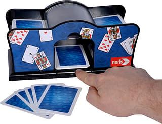 Noris Card Shuffler -elektroninen kortinsekoittaja