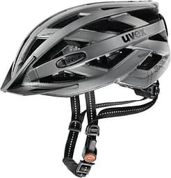 Uvex City i-vo -pyöräilykypärä, matta harmaa, 56-60 cm