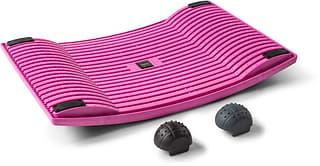 Gymba -aktivointilauta ja hierontapallot, pinkki
