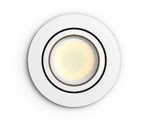Philips Centura HUE -älyalasvalo, BT, White and color ambiance, valkoinen pyöreä kehys