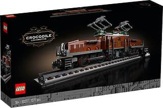 LEGO Creator Expert 10277 - Krokotiiliveturi