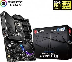 MSI MPG Z490 GAMING PLUS Intel Z490 LGA1200 ATX -emolevy