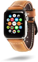 Feru Apple Watch -nahkaranneke 42 mm, ruskea