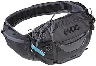 Evoc HIP PACK PRO 3 -juomalaukku, musta/harmaa