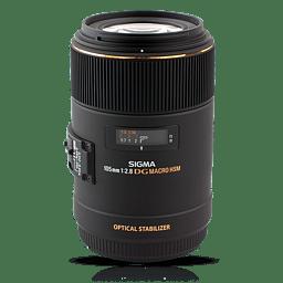 Sigma 105 mm F2.8 EX DG OS HSM Macro -objektiivi, Nikon