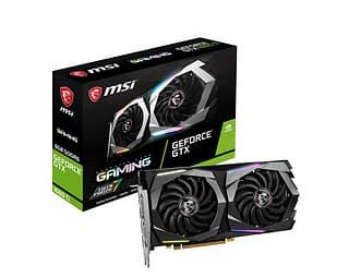 MSI GeForce GTX 1660 Ti GAMING 6G -näytönohjain PCI-e-väylään