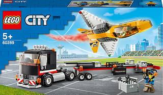 LEGO City Great Vehicles 60289 - Näytössuihkarin kuljetusauto