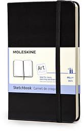 Moleskine Art Sketchbook Pocket -muistikirja, musta