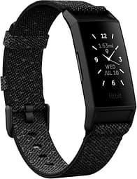 Fitbit Charge 4 -aktiivisuusranneke, musta heijastava