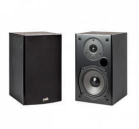 Polk Audio T15 -jalustakaiutinpari, musta