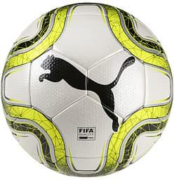 Puma Final 4 Club -jalkapallo, valkoinen, koko 5