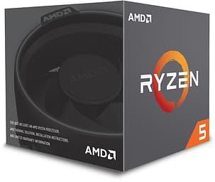 AMD Ryzen 5 2600 -prosessori AM4 -kantaan