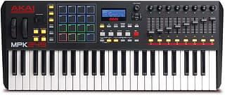 Akai MPK249 MIDI-koskettimisto USB-väylään