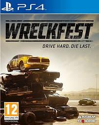 Wreckfest -peli, PS4