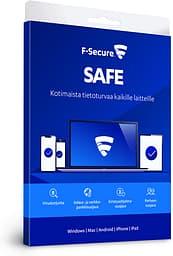 F-Secure SAFE - 5 laitetta / 24 kk -tietoturvaohjelmisto