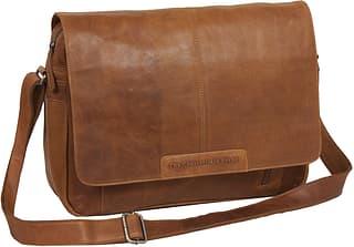 """The Chesterfield Brand Richard -laukku 15,4"""" kannettavalle tietokoneelle, konjakki"""