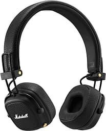 Marshall Major III Bluetooth -Bluetooth-kuulokkeet, mustat