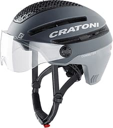 Cratoni Commuter -pyöräilykypärä, 58-61 cm, harmaa