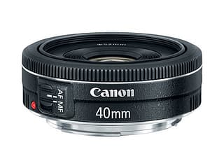 Canon EF 40 mm f/2.8 STM pannukakkuobjektiivi