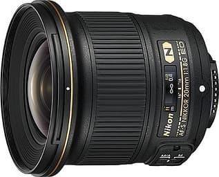 Nikon AF-S NIKKOR 20 mm f/1,8G ED laajakulmaobjektiivi